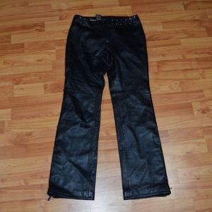 GENUINE Harley-Davidson Women's Full Leather Pants